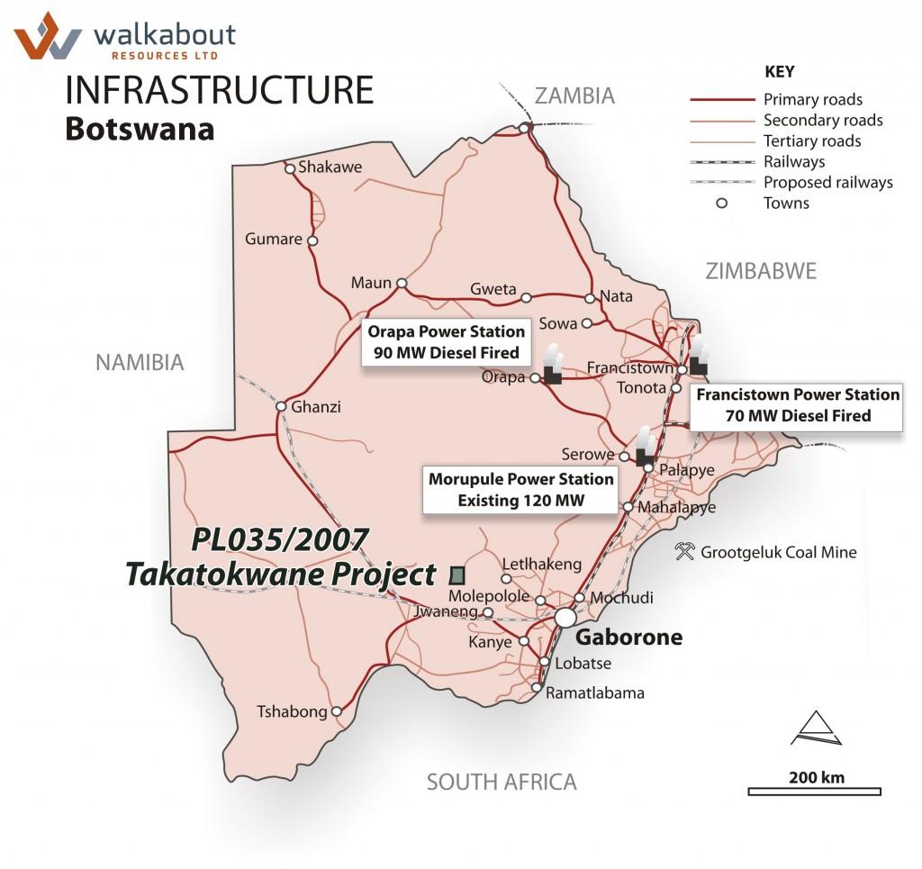 infrastructure botswana.cdr