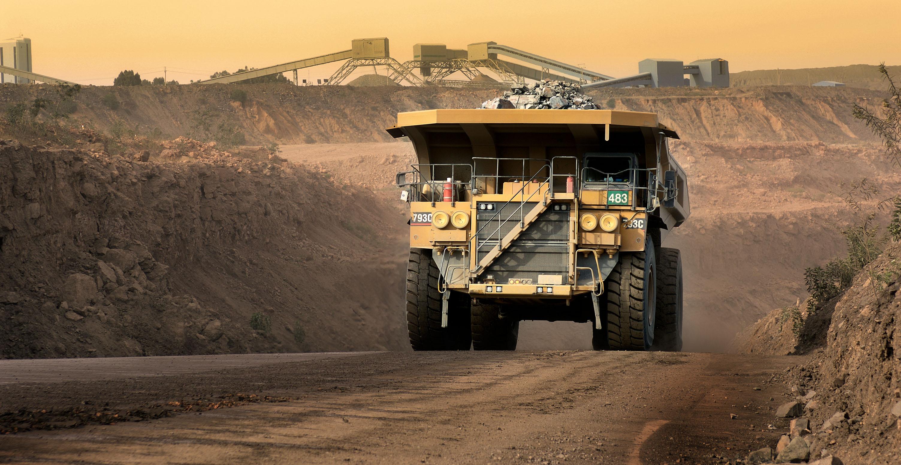 Jwaneng Botswana  City new picture : Diamond recovery at Jwaneng mine, Botswana.