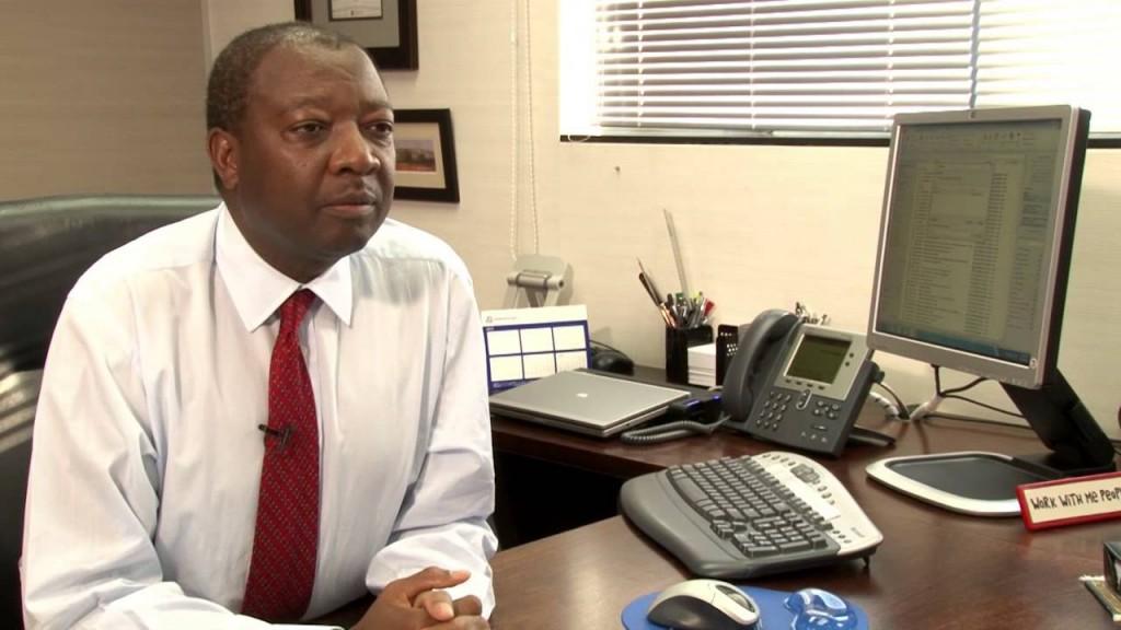Mr. Norman Mbazima, CEO of Kumba Iron Ore (Pic By www.youtube.com)