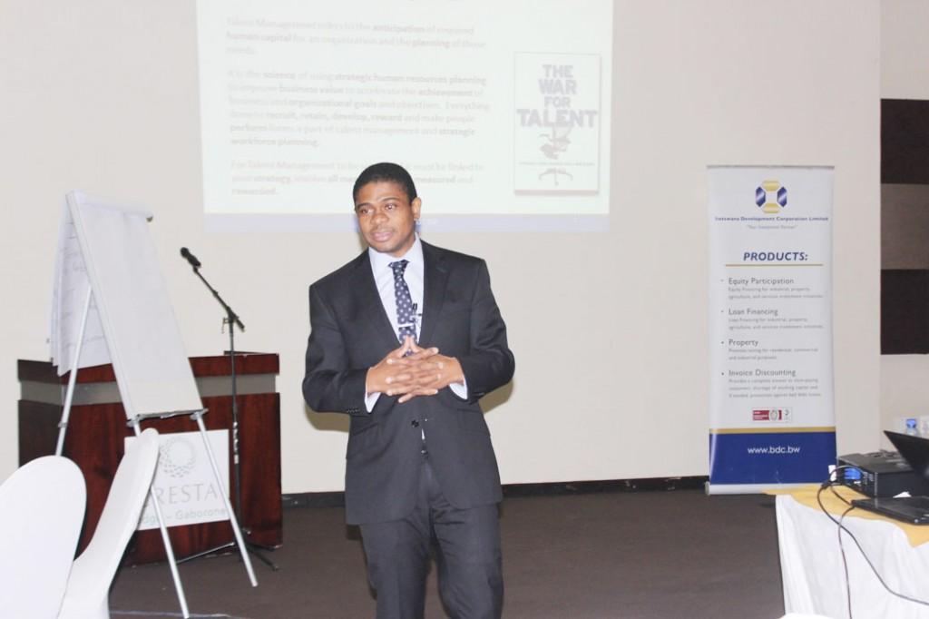Mr. Bashi Gaetsaloe, CEO of BDC