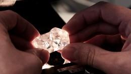 A diamond from Gem Diamonds operation